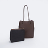 two in one set tote bag handbag for woman